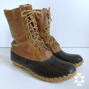 L.L.Bean Classic Leather Outdoor Duck Boot 10M